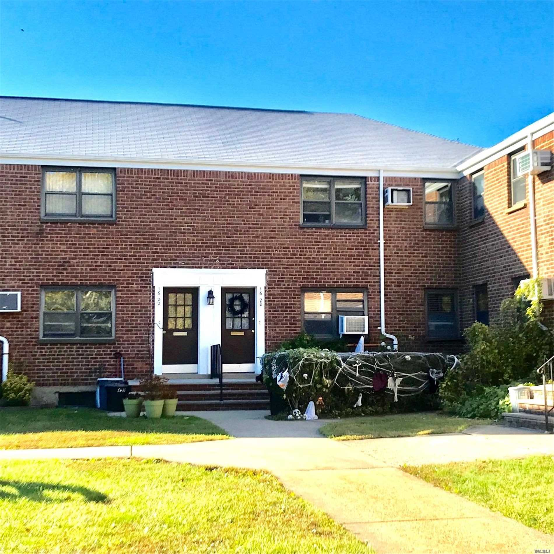 Move Right Into Sun Drenched Newly Renovated Home! First Floor Unit, Totally Renovated Open Layout Kitchen With Large Capacity Washer And Dryer, Stainless Appliances, Hardwood Floors, Led High Hats, Crown Molding, Updated Electric And Plumbing, Cat Friendly, Plenty Of Street Parking, Local Buses And Express Bus To The City, Dining, Shopping!!