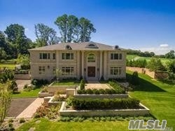 Luxury New Construction In Roslyn Harbor On One Acre Parcel Backing Picturesque Golf Course. This Magnificent Home Offers Exquisite Design And Incredible Detail Throughout. A Must See!