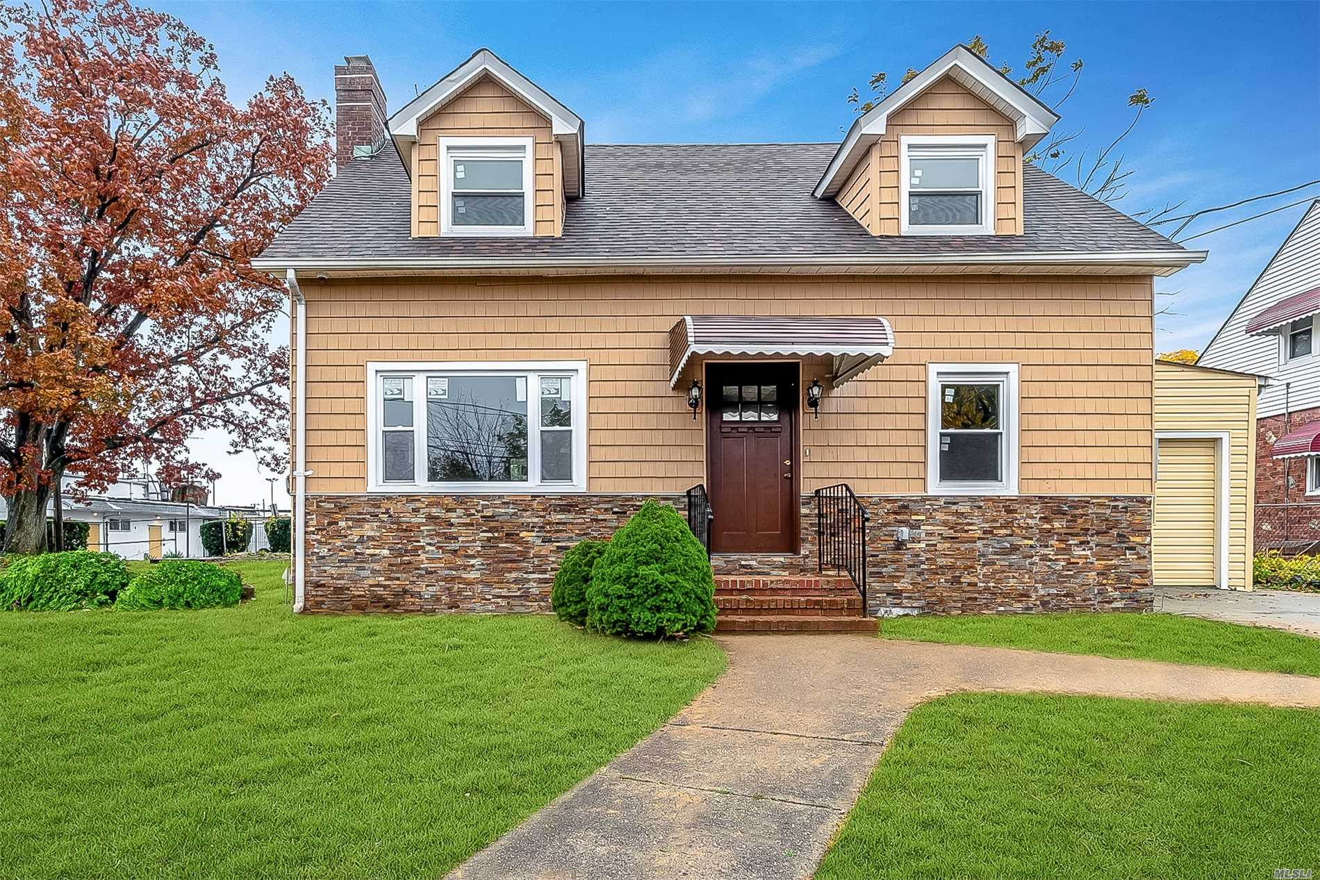 This Beautifully Updated Cape Is Move In Ready, On First Floor, Living Room, Eat In Kitchen, Office, .5 Bathroom. Upstairs 3 Bedrooms & Full Bath. Full Unfinished Basement Great For Storage. Tenant Pays Electric, Gas, Heat & Cable. Owner Pays For Landscaping And Water.