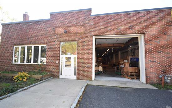 Brick Warehouse With 2500 Sf Of Office , Plenty Of Parking 2 Garage Over Head Doors. Easy Commuting . Low Taxes