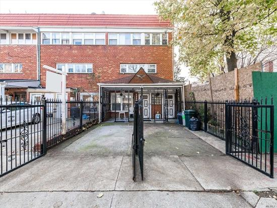 Great large 2 Family home in Prime East Elmhurst location, within walking distance to shopping, transportation, minutes to all major NYC Highways and Airports. Unique layout-1st apartment is on the 1st floor and has 2 bedrooms, living/dining area, kitchen and bathroom. Second Apartment has 4 bedrooms with 2 full baths and extra large private deck off the living room. The second apt is on the 2nd and 3rd floors of the home (duplex). This home also has a finished basement & private backyard.