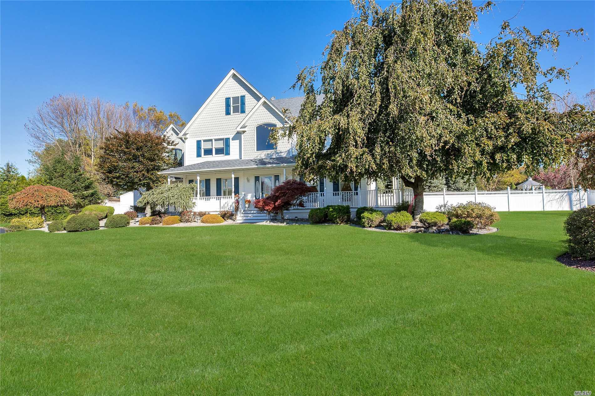 Nestled In A Cul-De-Sac, This Beautiful 3400 Sf Home Sits On Over 1/2 Acre With Lush Landscape And Saltwater Igp!  Meticulously Maintained And Updated, Offering 4 Bedrooms, 2.5 Baths, Hardwood Floors, Anderson Windows, Cvac, Full Basement W/Ose, 2-Car Garage With 9-Ft Wide Doors, Front Covered Porch And Fully-Fenced Yard! Move Right In And Enjoy All This Home And Location Have To Offer!