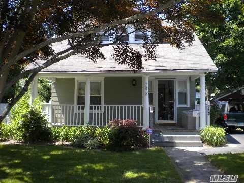 Charming 2 Bedroom Colonial, Lr, Eik, Formal Dining Rm, 1.5 Baths, Partial Basement, 2 Car Garage, No Pets, Credit Check Required