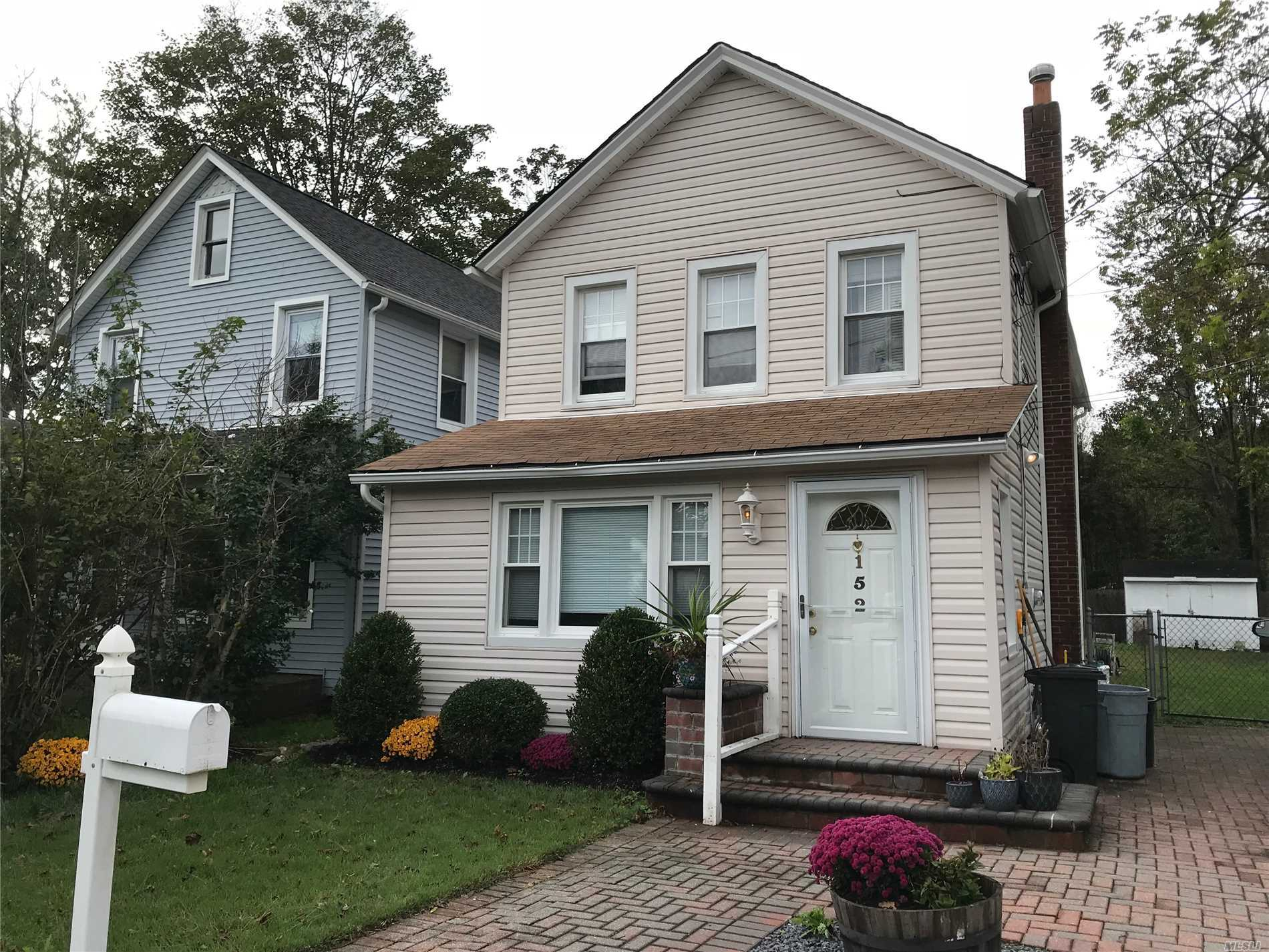 Right In The Heart Of The Village This 3 Bedroom , 1.5 Bath Colonial Has All The Charm It Needs. Enclosed Porch, Lr, Dr And Eik. See It Today And Call It Home Tomorrow.