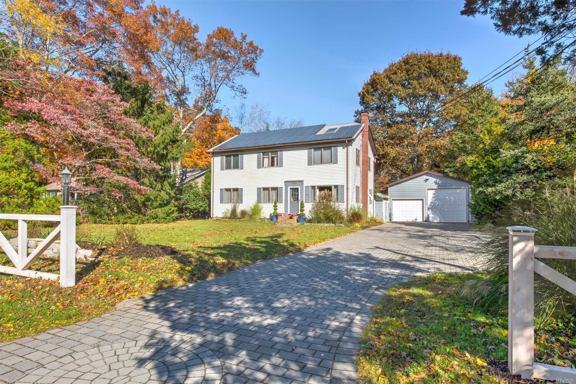Enjoy All The North Fork Has To Offer At This Chic Updated Home In Peconic. Spacious Floorpan With 4 Bedrooms, 3 Baths, Living Room, Den, Kitchen, & Dining Room. Gorgeous Custom And Designer Touches Throughout Features An Amazing Custom Kitchen And A Master Suite With Spa Like Bath,  Cathedral Ceiling, And Walk In Closet. All This Plus Solar Panels, A Full Basement, Oversized Detached Garage, And A Private Backyard With Room For A Pool. Short Distance To Goldsmith's Inlet Beach.