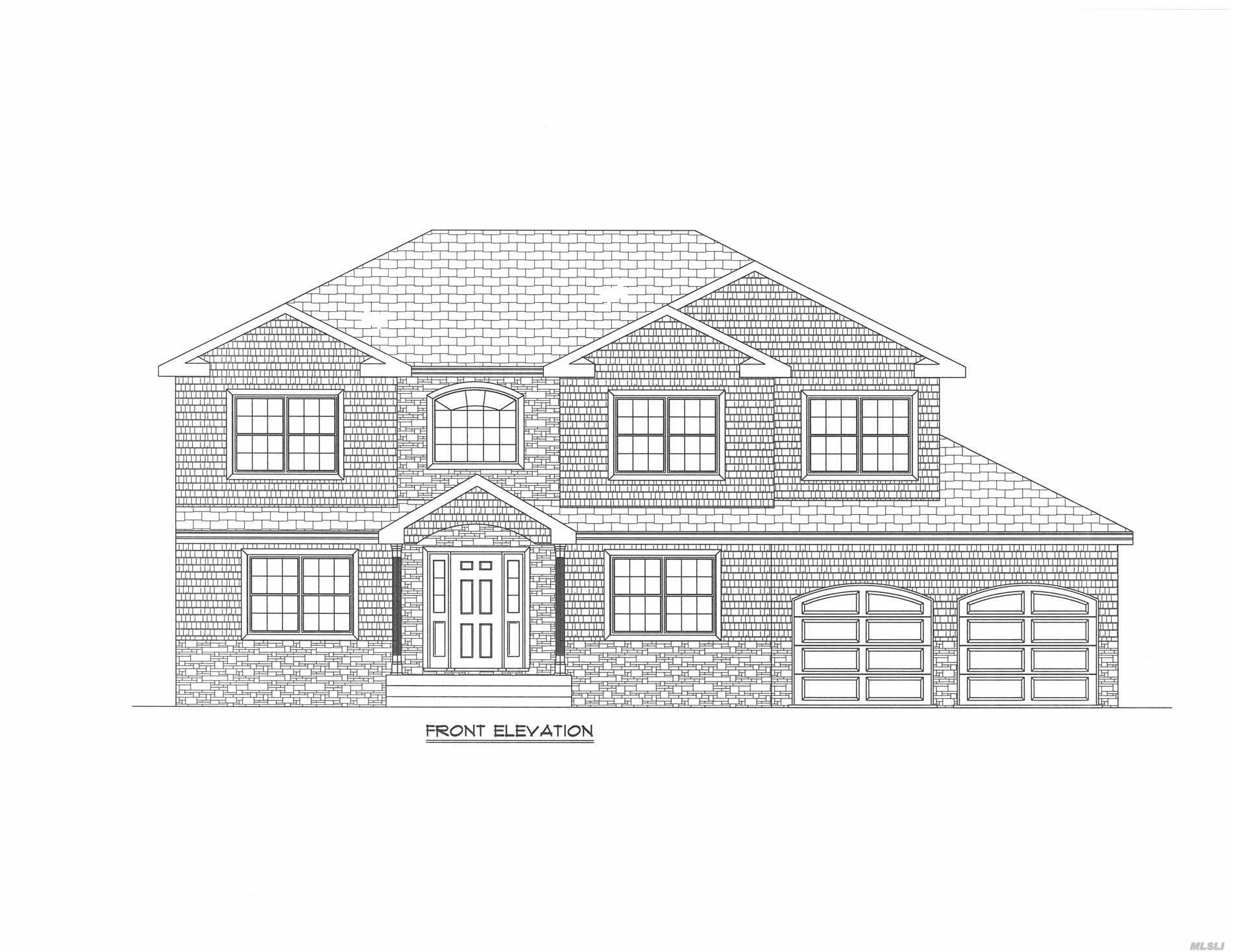 Incredible New Construction In Jericho To Be Built!Over 3700 Sq Ft Facing East!Quality Throughout This 5 Bdrm/4.5 Bth Colonial Home W/Open & Spacious Floor Plan Featuring Two Master Stes Incl One On 1st Fl, Chef's Eik W/Gas Plus Warm & Inviting Great Rm W/Fpl!Oversized Backyd, Great For Entertaining!Robbins Ln Elem, Sw Middle.Time To Customize This Sensational Opportunity!