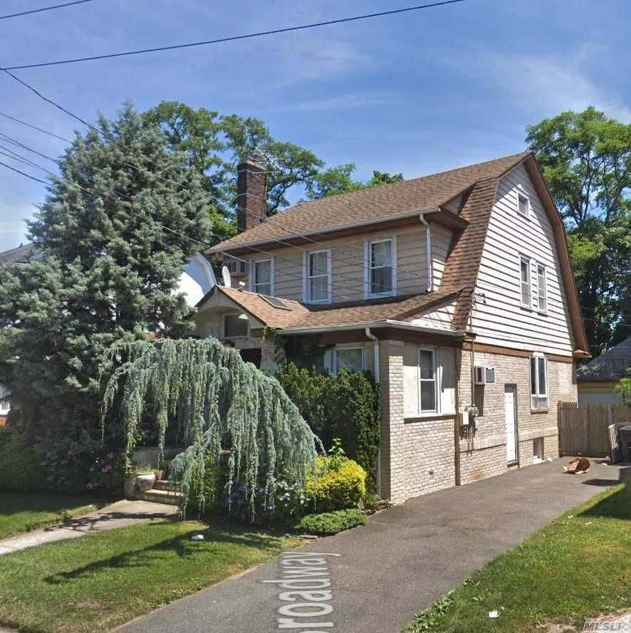 Fabulous Colonial In The Heart Of Cedarhurst, Formal Lr, W Fireplace, Formal Dr, Eik, 2 Offices, 3 Bedrooms, Updated Full Bathroom, Full Standing Attic, Full Finished Basement.