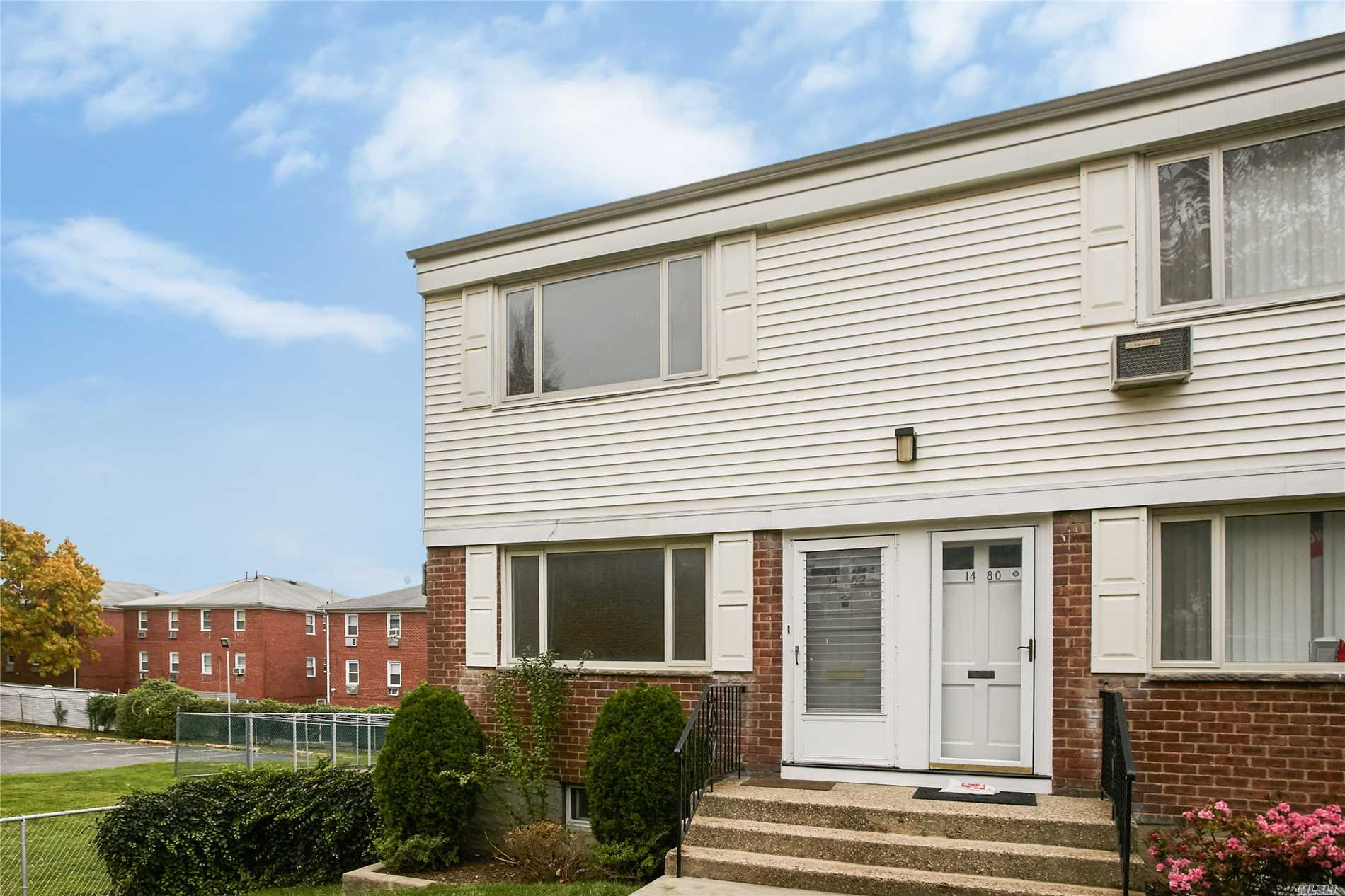 Rare Bay Terrace Duplex Corner Unit In Section 2. This Co-Op Is Set Back From Street Level, Providing A Quiet Space. Unit Features Hardwood Floors, Stainless Steel Appliances, Renovated Bath With Walk-In Shower, Master Bedroom With Walk-In-Closet And Large Attic For Extra-Storage. Easy Access To Full Laundry Room, Community Storage, And Parking. Maintenance Includes Electric, Heat, Water, Snow/Garbage Removal, Property Tax, And On-Call Service. Buses To Manh - Qm2 & Qm32 Right Across Street.