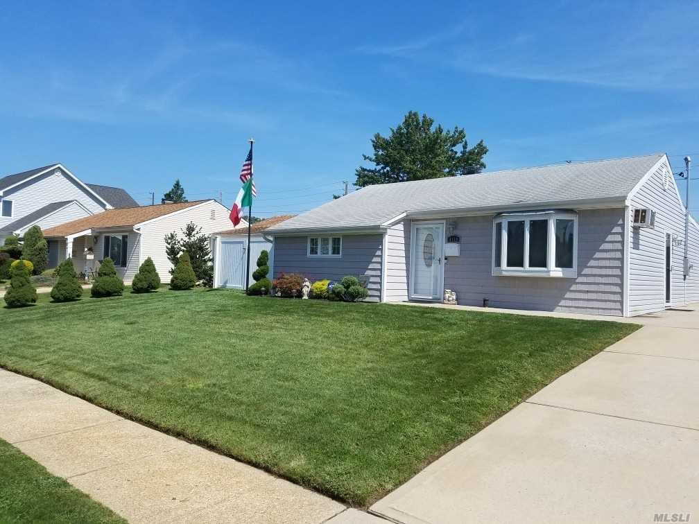 Updated And Beautifully Maintained Ranch With Large Bedrooms And Fenced Property, Shed, Move In Ready!