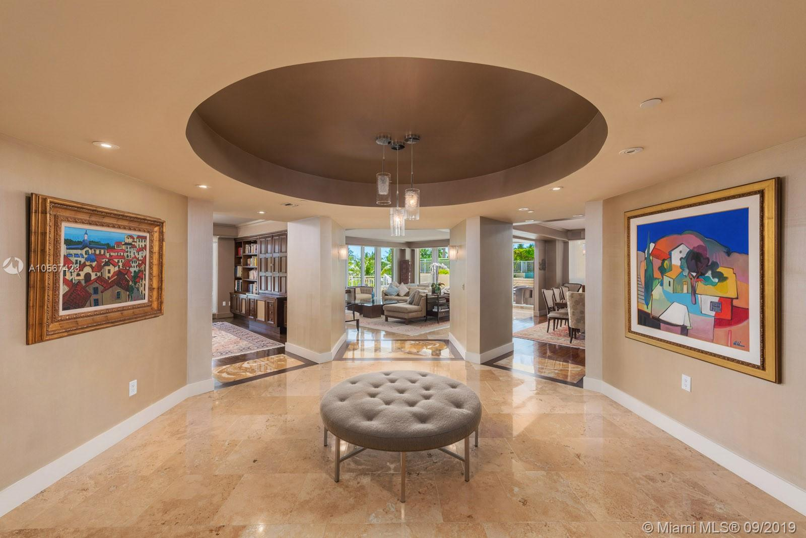 Unique! One Of Many Words That Beautifully Describes This 6, 701 Sq Ft, Multi-Level Apartment Which Feels Like A Waterfront Home. This Very Select Lanai Offers An Extremely Large Terrace Which Is Approx 3, 710 Sq Ft With Your Own Private Pool + Jucuzzi. Steps Away Lies The Gorgeous Sandy Beach Of Florida+Ógé¼Gäós East Coast. Top Of The Line Finishes Beside An Array Of 8 Bedrooms, 8 Full Bathrooms +2 Powder Rooms Set This Gem Of A Residence On Its Own Tier Of Luxury And Distinctiveness (Main Unit Has 5 Bedrooms And Guest House Has 3 Bedrooms). 2 Car Private Garage + 2 Additional Parking Spaces.