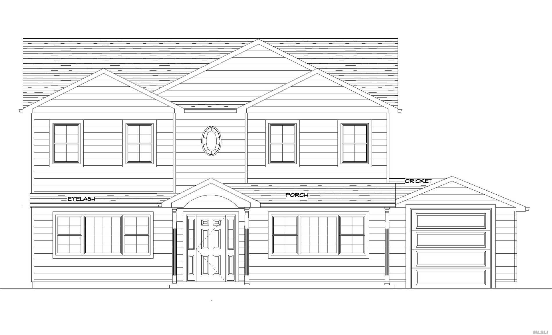 Custom Built New Construction To Be Built.4 Bedrooms, 2.5 Baths. Still Time To Choose Colors And Interior Designs.