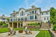 Newly Designed And Built This Connecticut Stone And Ship-Lap Center Hall Colonial, Situated On A Private Road In Plandome Over Looks Manhasset Bay With Year Round Sunsets. Offers 6 Bedrooms, 7 Full Baths, 4 1/2 Baths. School District 6. Convenient To Train And Shopping. Dock Permit Secured. Hoa $200 Per Month