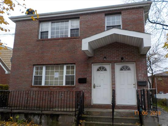Fully Detached Frame Resting On A 43 X 112 Lot. Private Driveway For 5 Cars. Property Being Sold As-Is. No Representations Or Warranties. Buyer To Pay Nyc / Nys Transfer Taxes. Cash Only.
