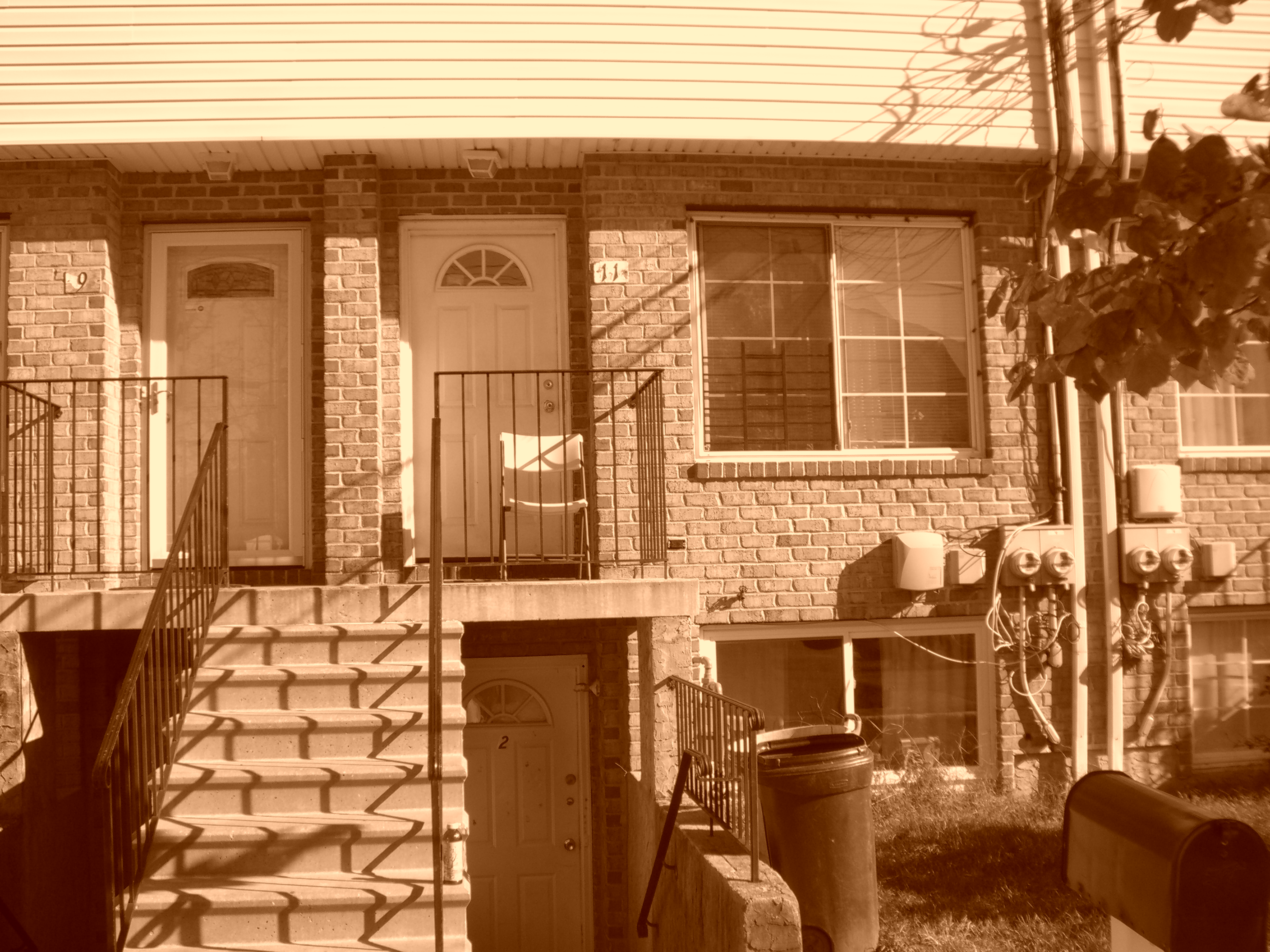 2 Family attached townhouse-Occupied but will deliver vacant.