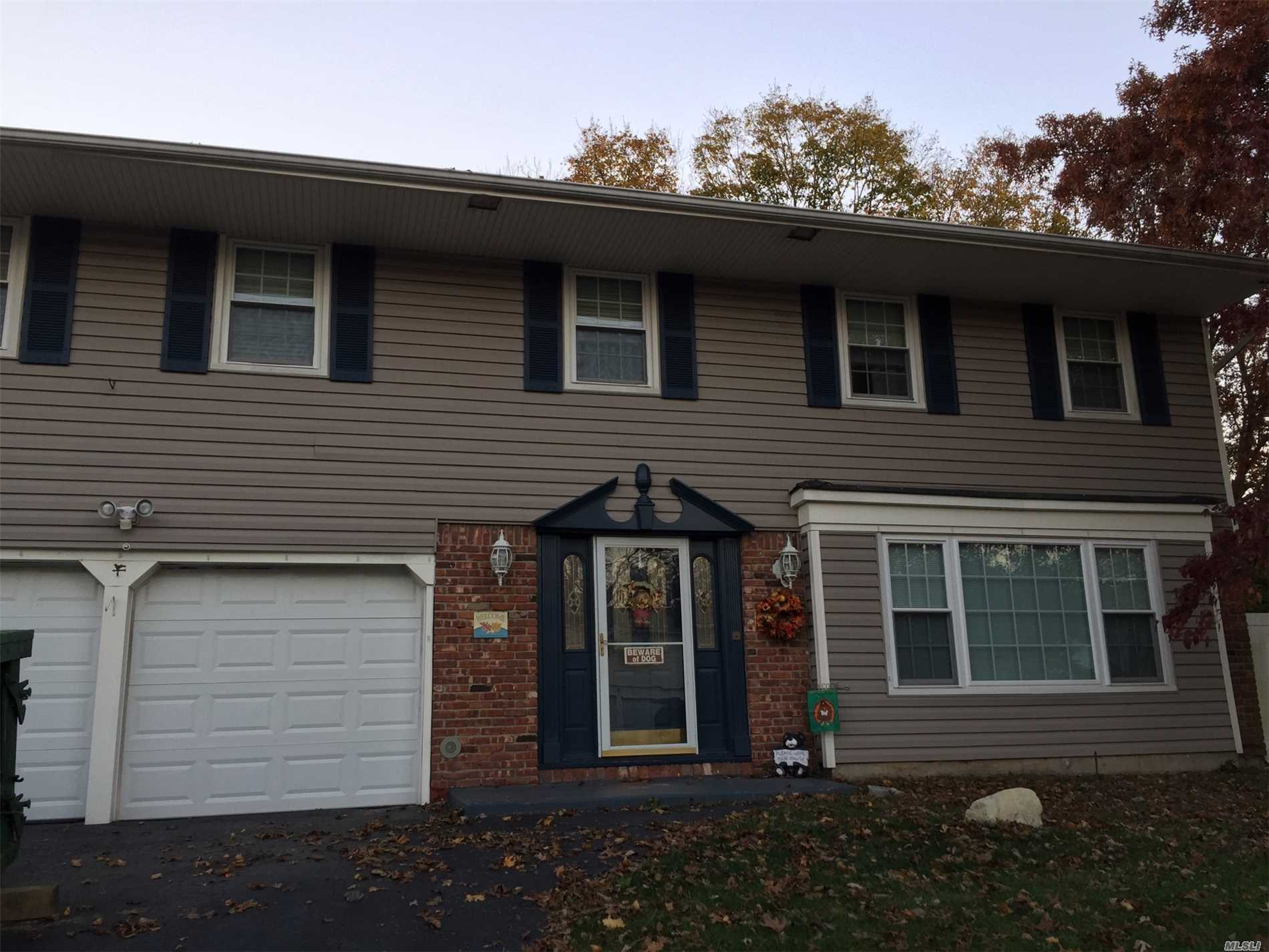 Spacious Colonial Priced To Sell In Three Village Sd. Possible Mother/Daughter With Permits. House Is Sold As Is. Buyer Must Confirm All Information. No Offer Is Considered Accepted Until Contracts Are Fully Executed. Sale Subject To Bankruptcy Court Approval.