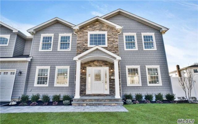 Perfect Mid Block Location Is The Setting For This New Custom Colonial 5 Bedrooms 3 Full Bths-Custom Kitchen With Center Island-Great Rm With Fireplace-Master Suite With Walk In Closets , Tray Ceiling And Huge Spa Bathroom-All The Bells And Whistles From This Well Know Top Builder.Still Time To Customize!