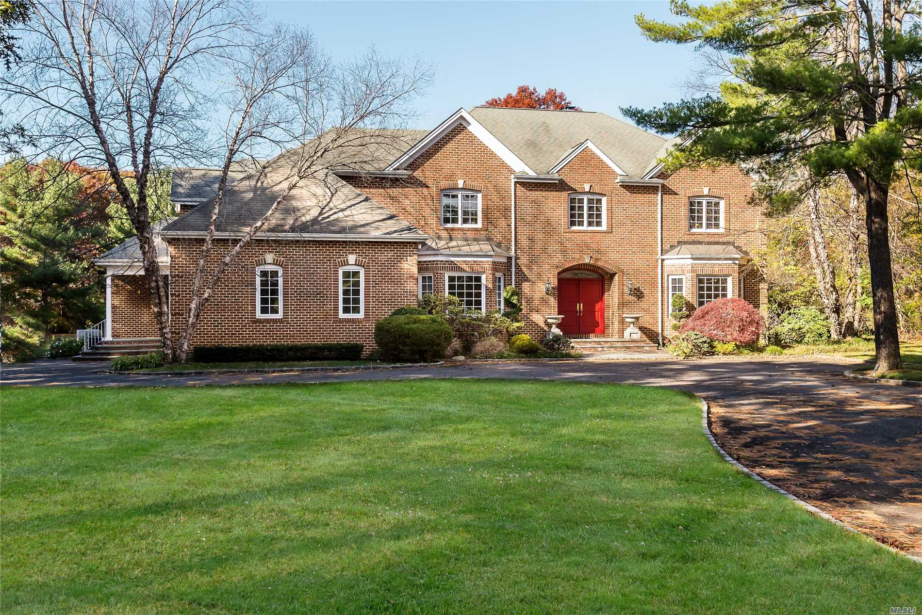 Traditional Brick Colonial On 2+ Acres. Jericho Schools, 6 Bedrooms. 3 Fireplaces. Ig Pool. Small Pets Allowed With Additional Security Deposit.