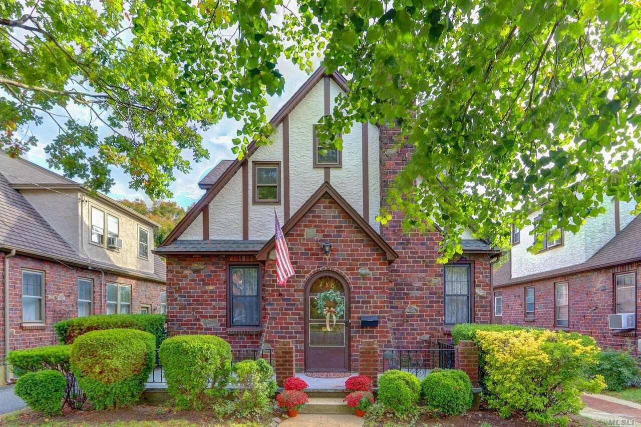 This Beautiful English Tudor Features An Entry Foyer With A Coat Closet, A Living Room With A Wood Burning Fireplace, A Formal Dining Room, A Kitchen, Four Current Bedrooms But There Are Plans To Put Three Bedrooms Upstairs And Use It As A Colonial, Two Full Baths, A Full Basement, All Thermal Pane Windows, A One Car Detached Garage With A Long And Private Driveway, Hardwood Floors, Low Taxes, 6 Year Young Architectural Roof And Much More!