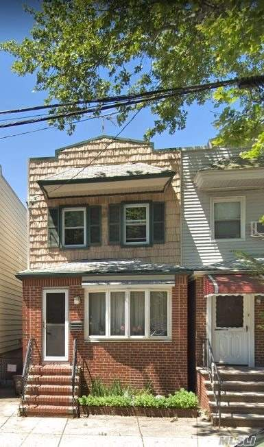 Semi Detached 1 Family Located 6 Blocks To The M Train. Great Condition, Full Finished Basement, 3 Bedrooms, Formal Dining Room, Private Yard.