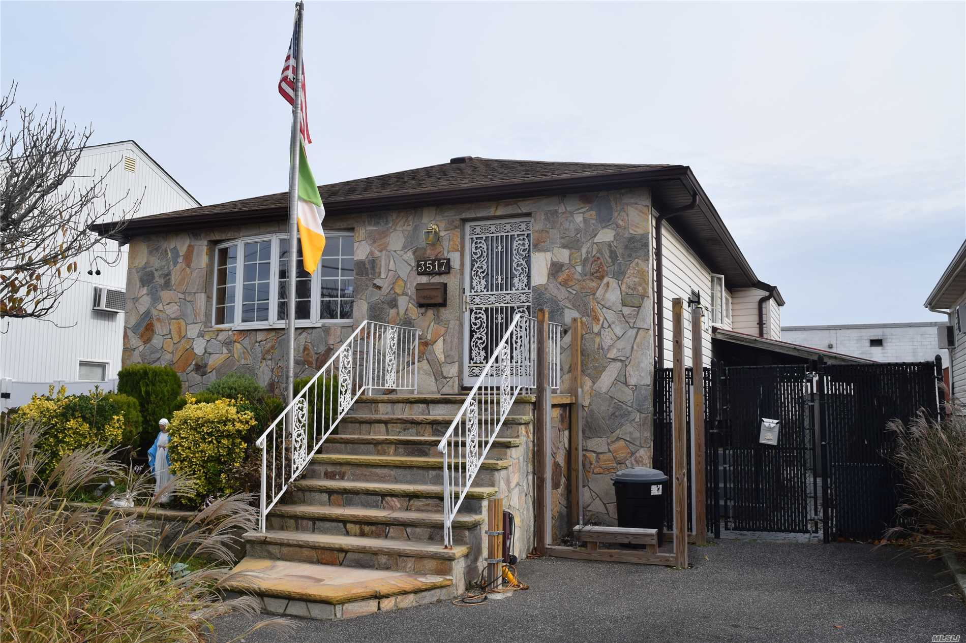 This New To The Market Beautiful Ocean Harbor Waterfront Home, Features Brand New Bulk Heading, Andersen Window Throughout, Including Huge Bay Window. All New Ceramic Tile, New Baths, Wood Floors, New Electrical, New Washer/Dryer, Sliders Out To Rear Deck, Under Ground Sprinklers, Stone Front, Full Finished Basement W/Tons Of Storage.To Much To List. A Must See.