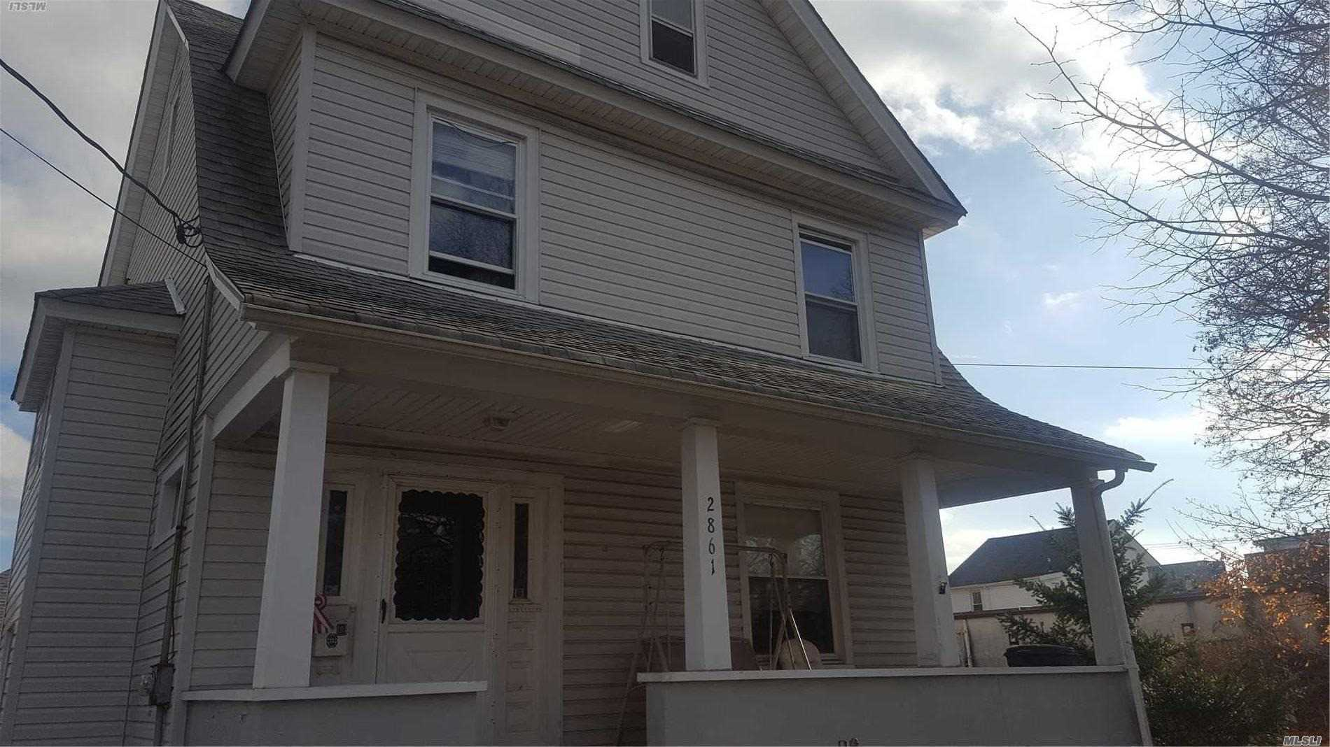 Old World Charm, Huge Property, Front Porch, Recent Roof & Siding. Detached Garage, Full Basement. Not In Flood Zone.     No Insurance Needed! Home Needs Tlc,  Priced To Sell. Owners Will Listen To All Offers.