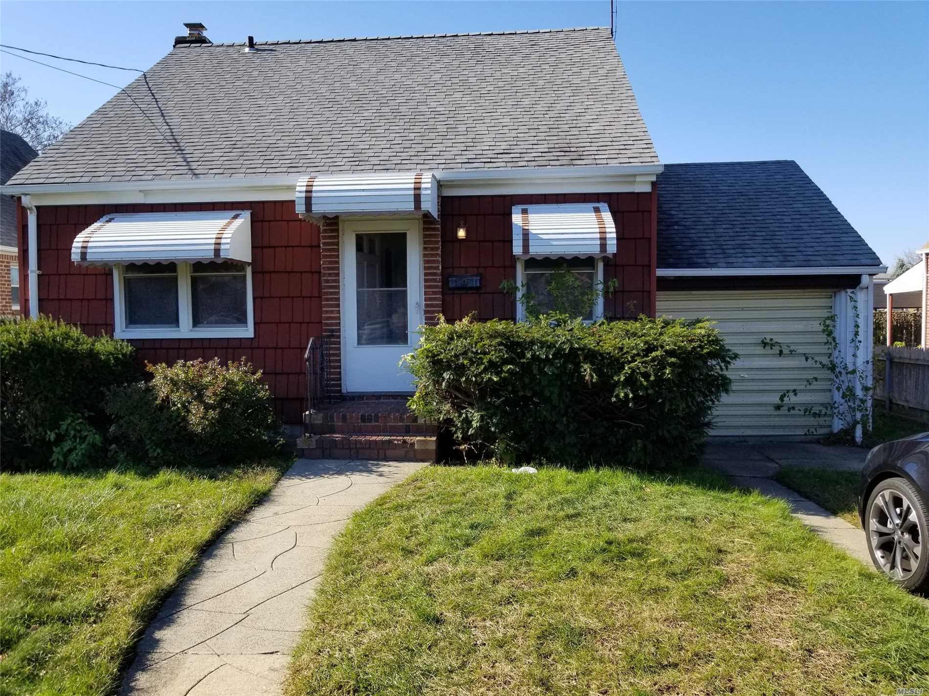 Best Buy In Town! Clean, Nice Cape With Oak Eat In Kitchen, Wood Floors, Updated Weil Mclain Burner, Sep Hotwater Heater, Two Full Bths, One Updated, Best Priced Home In Franklin Square!