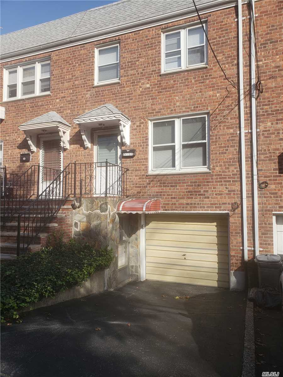Location, Location, Home Sweet Home On A Sunny Block, Solid Brick, 18 Foot Wide, Townhouse, Move-In Condition, Spacious Rooms Thru-Out, Private Yard And Walk-In Basement. Walking Distance To Buses And Stores. Minutes Drive Back To Downtown Flushing.