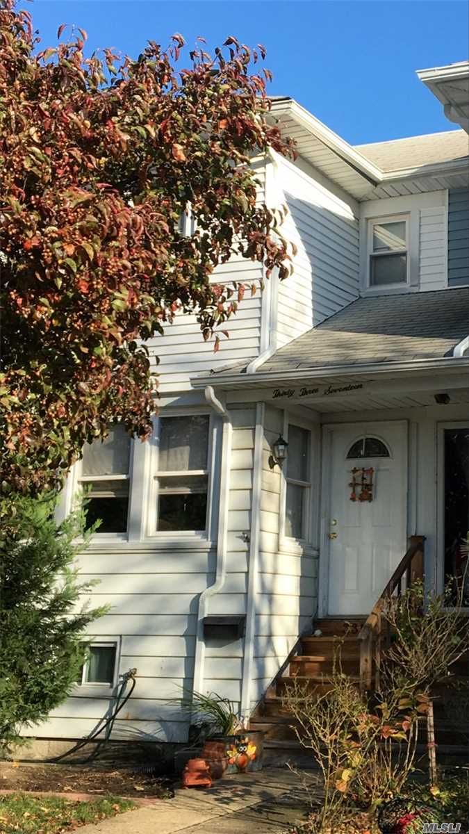 Spacious Semi Attached 3 Br, 2 Bath Colonial With 2 Rear Decks, Waterview