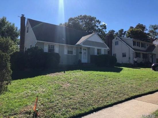 Beautiful Renovated Home In Wantagh Woods ! Low Taxes, Owner Will Put Stainless Steel Appliances Or Give Credit, Dead End Street, Large Yard, Huge Full Finished Bsmt, 200 Amp Service, Beautiful Home With Attached Garage ! Be The 1st!!