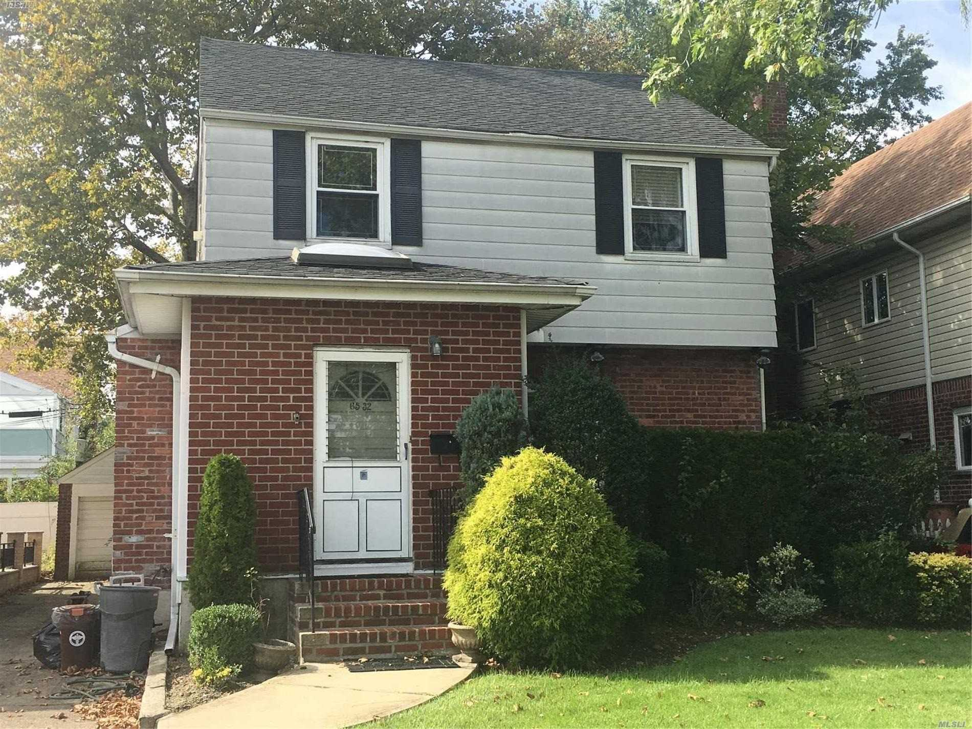Lovely Detached Colonial In Heart Of Fresh Meadows Features Living Room, Formal Dining Room,  Kitchen, Finished Basement, Patio, Backyard & Garage. Walk To School District #26 Schools, Nr To Queens College,  Buses, Xpress Bus, Near Hways & Shopping. Hurry, Priced To Sell, Won't Last!!