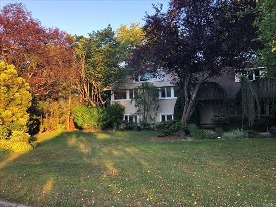 Home features 5 bedrooms, 3 full bathrooms and 1 half bath. Large yard for entertaining featuring a cozy gazebo. House needs work but has GREAT potential! Great opportunity that you do not want to miss!