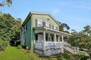 Charming Antique Home - Circa 1845 - The Alice Wheeler House -Family Owned For Four Generations! Close To Harbor & Walk To Church And School! Not In A Flood Area! Low Taxes! Come Fall In Love With This Beautiful Gem! Upgraded Electric!