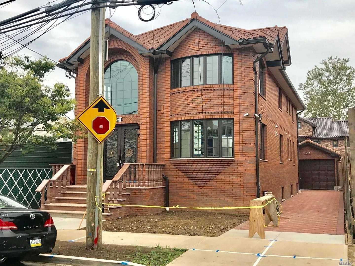 Location!!! 2 Blocks Away From Northern Blvd, 3 From H Mart, 4 From Lirr. 15 Mins Walk Away From Ps159 & 3 Min Drive From Clearview Expy. This Luxurious Contemporary Offers 1378 Sqft Designer Living Space W/ Exquisite Craftsmanship, Incredible Architectural Detail And Extensive Millworks. Large Brick 2 Family. Fine Workmanship & High Quality Materials, Granite Marble Kitchen Using Samsung Appliances, Sd #26, Cac, Hardwood Floors, High Income Potential. Must See.