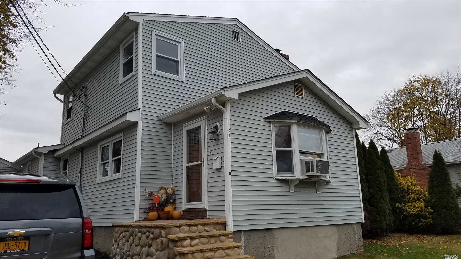 Lovely Colonial House With 2 To 3 Bedrooms, 2 Full Baths, Eat-In Kitchen, Living Room W/Fireplace, Den Or Master Bedroom Or Formal Dining Room W/Full Bath, Just Painted.