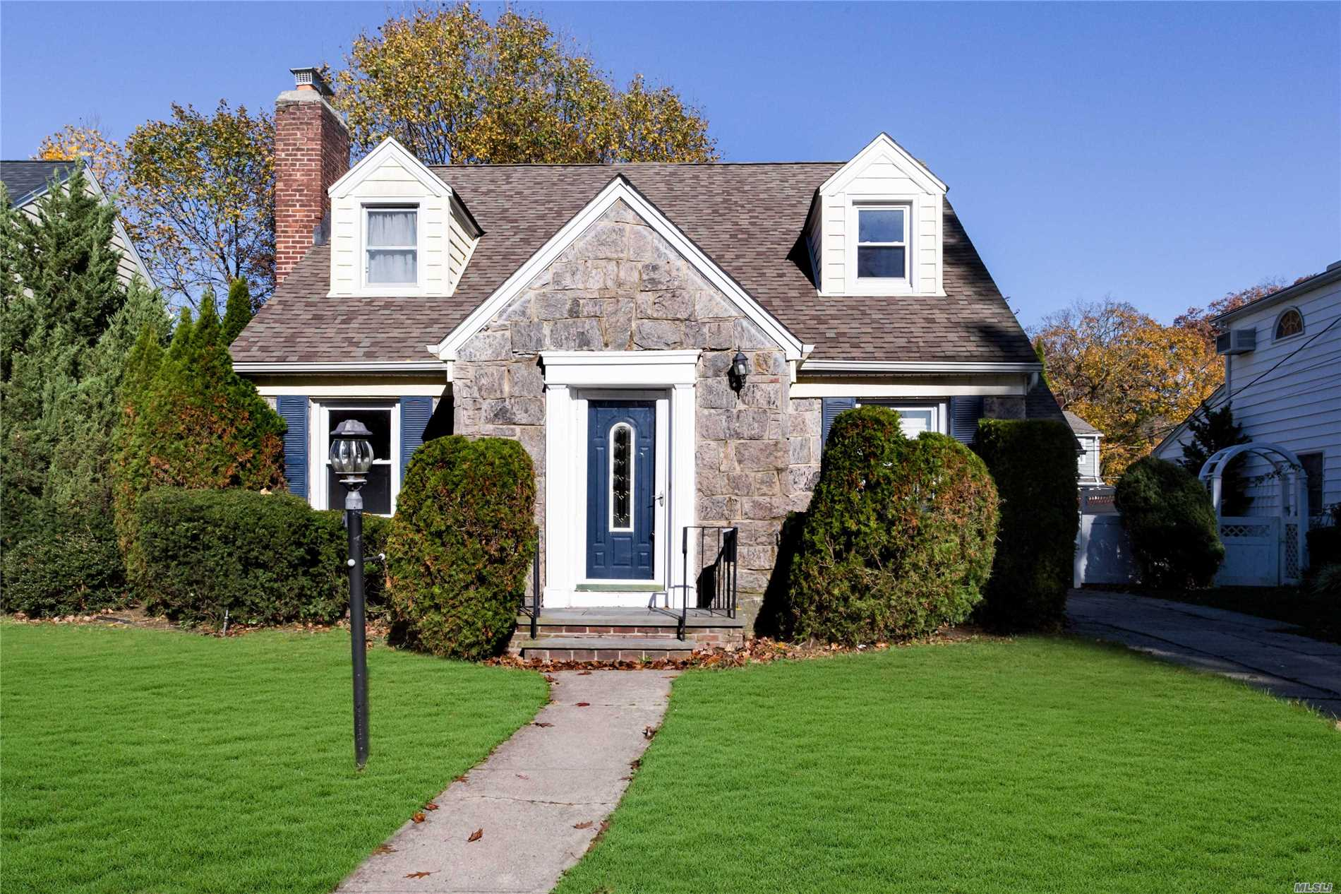 Extended Cape On Tranquil Dead End Street. Bring Your Updated Ideas To This Bank Owned Property. First Floor Has A Large Living Room W/Fireplace, Dining Room, Eat In Kitchen, Full Bath And Bedroom. Second Floor Includes 3 Generous Size Bedrooms, Hall Full Bath, Master Suite W/Full Bath.