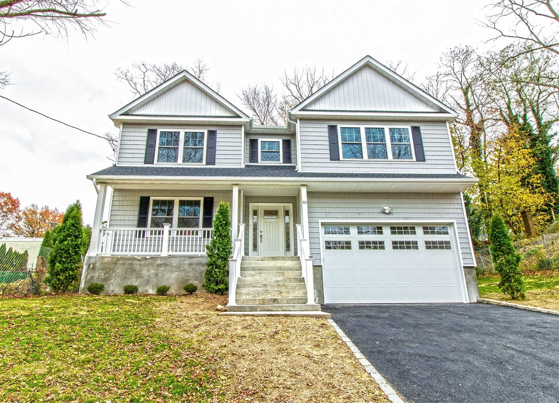 New Construction In The Landing Area Of Glen Cove. This Stunning Home Features 5 Bedrooms, 2.5 Baths, Wood Floors Throughout, And All The Best Of High End Finishings. Custom Moldings. High Ceilings. This Homes Basement Can Be Customized To Fit New Owners Dreams.