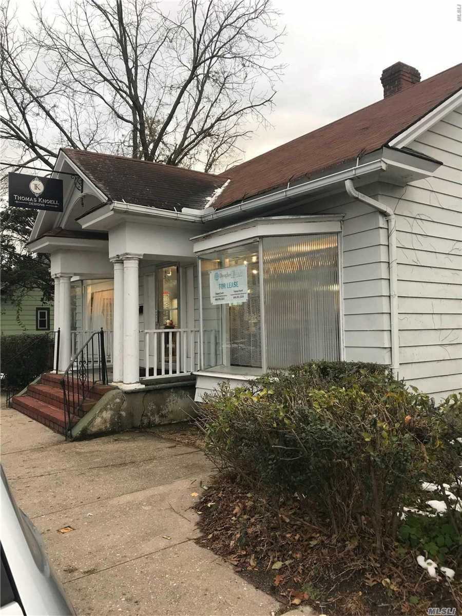 Charming Free Standing Storefront With Large Windows In The Heart Of Sea Cliff. Large Attic For Storage, Basement And Side Yard.