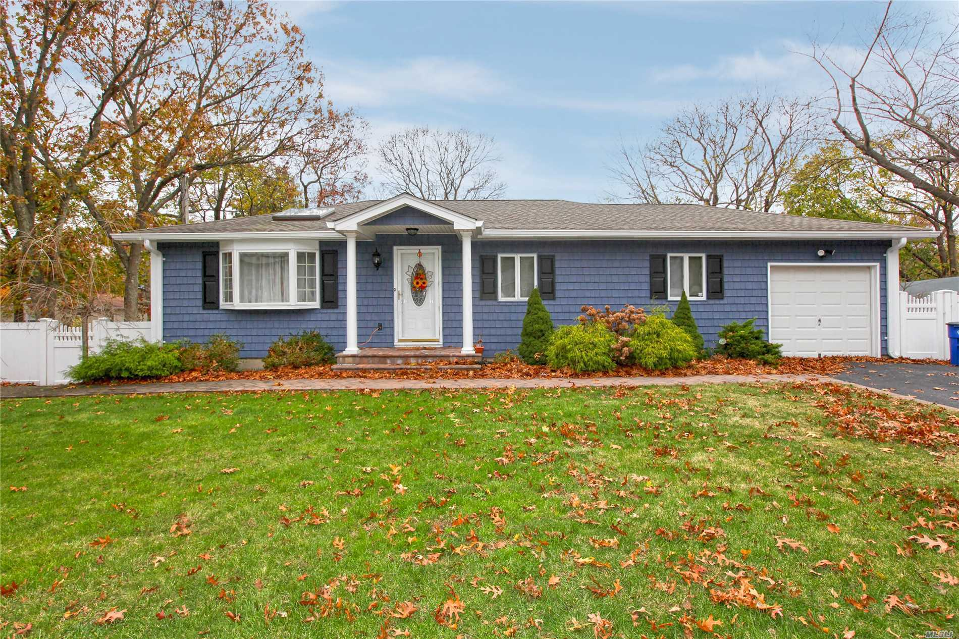 Great Ranch In The Village Of Lake Grove. Sachem Schools. Featuring 3 Bedrooms, 1.5 Baths, Updated Bath, Hardwood Floors, Young Roof, New Siding, Great Basement With Office And Den. Low Taxes. This Home Wont Last!!