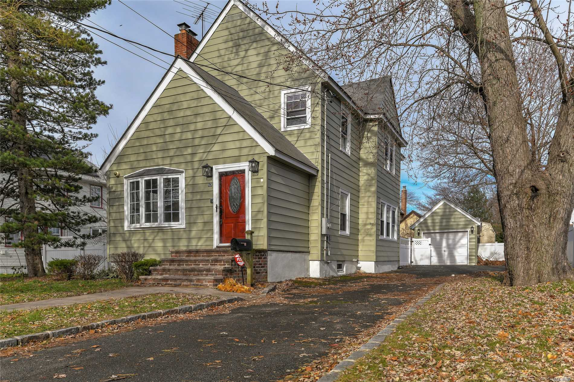 Beautiful Colonial , Close To All . Updated Kitchen With Granite , Cherrywood Cabinets And Stainless Steel Appliances . Large Formal Dining Room , Living Room With Fireplace . Finished Basement . Hardwood Floors To Be Refinished Shortly . 2 Blocks To School, 2 Minutes To Parkway