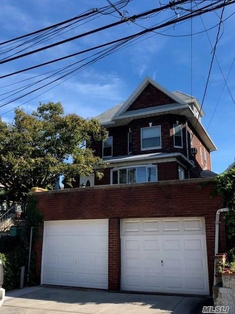 2-Family, Oversized Lot, 40X100, 2-Car Gar, Full Finished Attic,