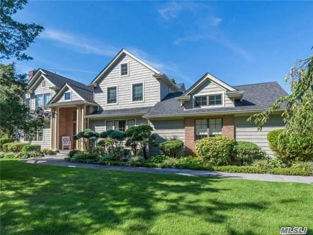 Spectacular Contemporary Col On 3/4 Acre Manicured Grounds. Ing 20X40 Gunite Pool, Solar Panels, Fabulous Grounds, Huge Driveway, Beaut Kit And Baths, Poss Rm For Mom Check Local Zoning, Cac, Custom Billiard Rm, Xtra Large Brs, So Many Xtras Must See. For The Most Discerning Buyer, Shop And Compare! This Is A One Of A Kind Dream Home!