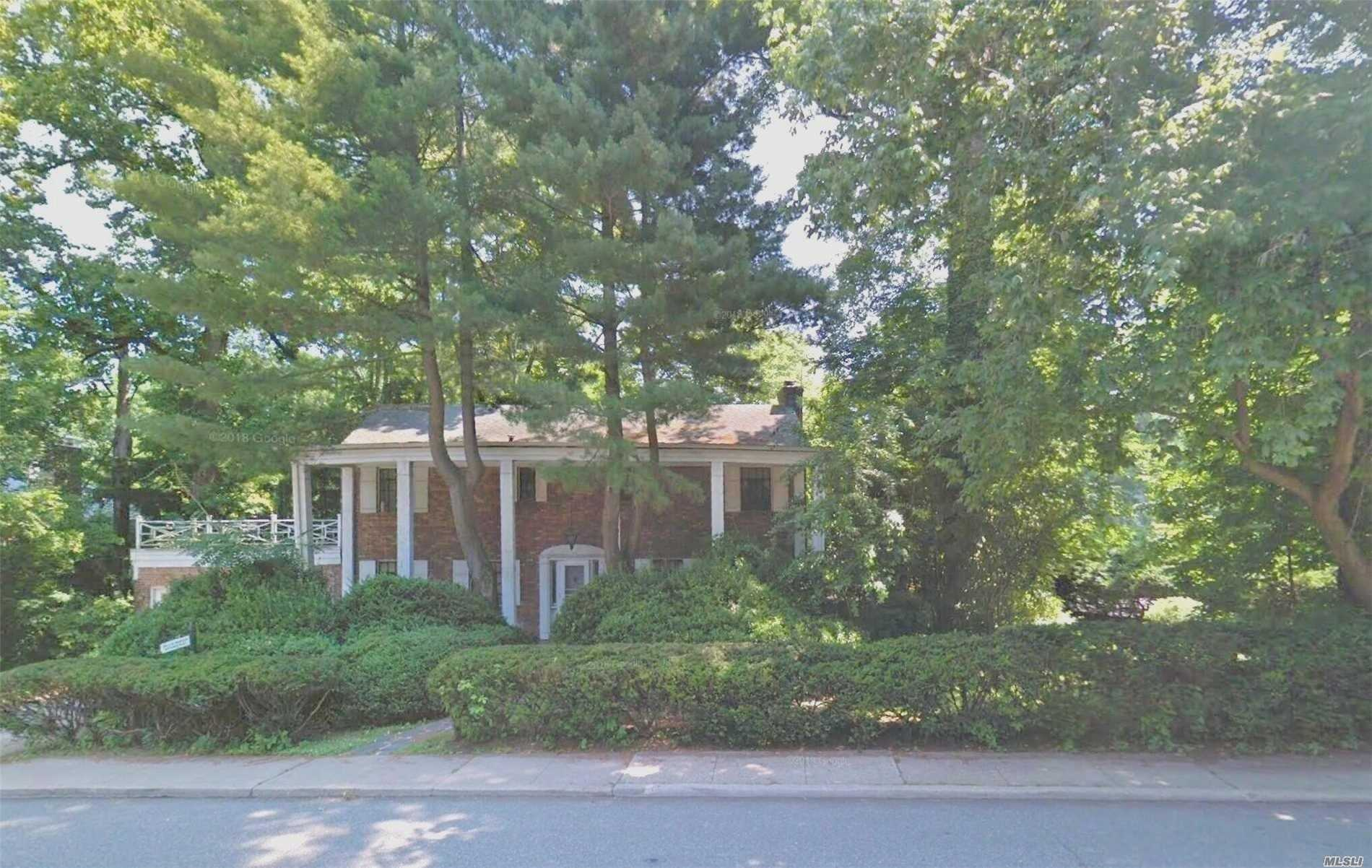 Brick Colonial With Private Entrance To Professional Office. Large 3 Bedroom 2.5 Bath, Formal Living Room And Dining Room. Large Enclosed Porch. Nice Corner Lot. Needs Tlc. Priced To Sell.