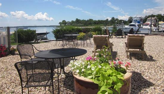 This Bay Front Commercial Opportunity Is One Of A Kind! Two Acres On Southold Bay. 20 Hotel Rooms, Hl Liquor License And 16 Boat Slips. Separate Buildings For Entertaining Or Retail! Too Many Options To List! This Opportunity Will Not Last!