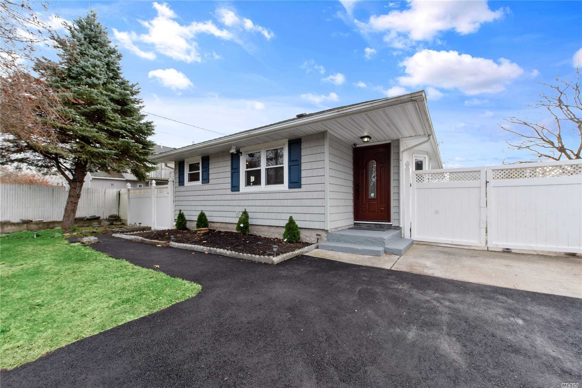 This Move-In-Ready Home Is Less Than 5 Minutes From Smith Point Beach! After A Long Day Of Work This Home Will Give The Lucky New Owner A Chance To Relax And Unwind, Creating A Life Of Comfort And Relaxation! Enjoy Your Pool Or A Stroll To Smith-Point Beach! This Beautiful Landscaped Charming Ranch Has Many Updates Throughout. Just Need Your Finishing Touches To Call Home!