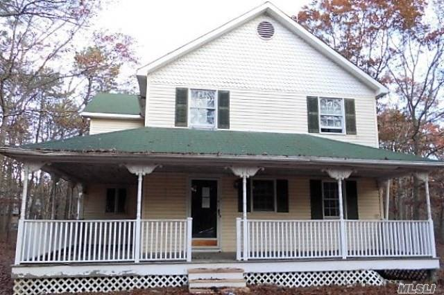 An Inviting Front Porch Will Welcome You And Your Guests At This Property In Manorville City. This Home Offers 4 Bedrooms, 2 Baths, A Living Room With Fireplace, An Unfinished Basement And Approximately 1, 756 Square Feet Of Living Space, All On About A 1.8 Acre Lot. With Upgrades And Personal Touches, It Will Definitely Turn Into A Great Home To Own.
