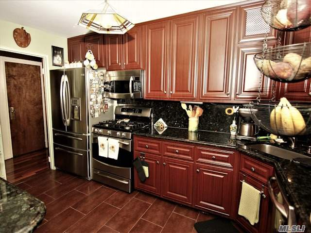 Rare Find, Triplex Town House @ The Towers Of Water's Edge Co-Op.Spacious 3Br, 2.5 Bath Home Has A Beautifully Renovated Kitchen, Formal Dining Rm, Central A/C . A Full Basement That Has A Large Family Room & Laundry Center. Private Porch , Front And Rear Entrances. Security . Amenities, Nail/Beauty/ Hair Salon, Gym, Dry Cleaners, Deli/Restaurant., Tennis Courts , Heated Pool          Dog Friendly  Total Monthly $2434.30 .Includes All Utilities, Heat, Gas, Electric, Re Taxes W/O Garage