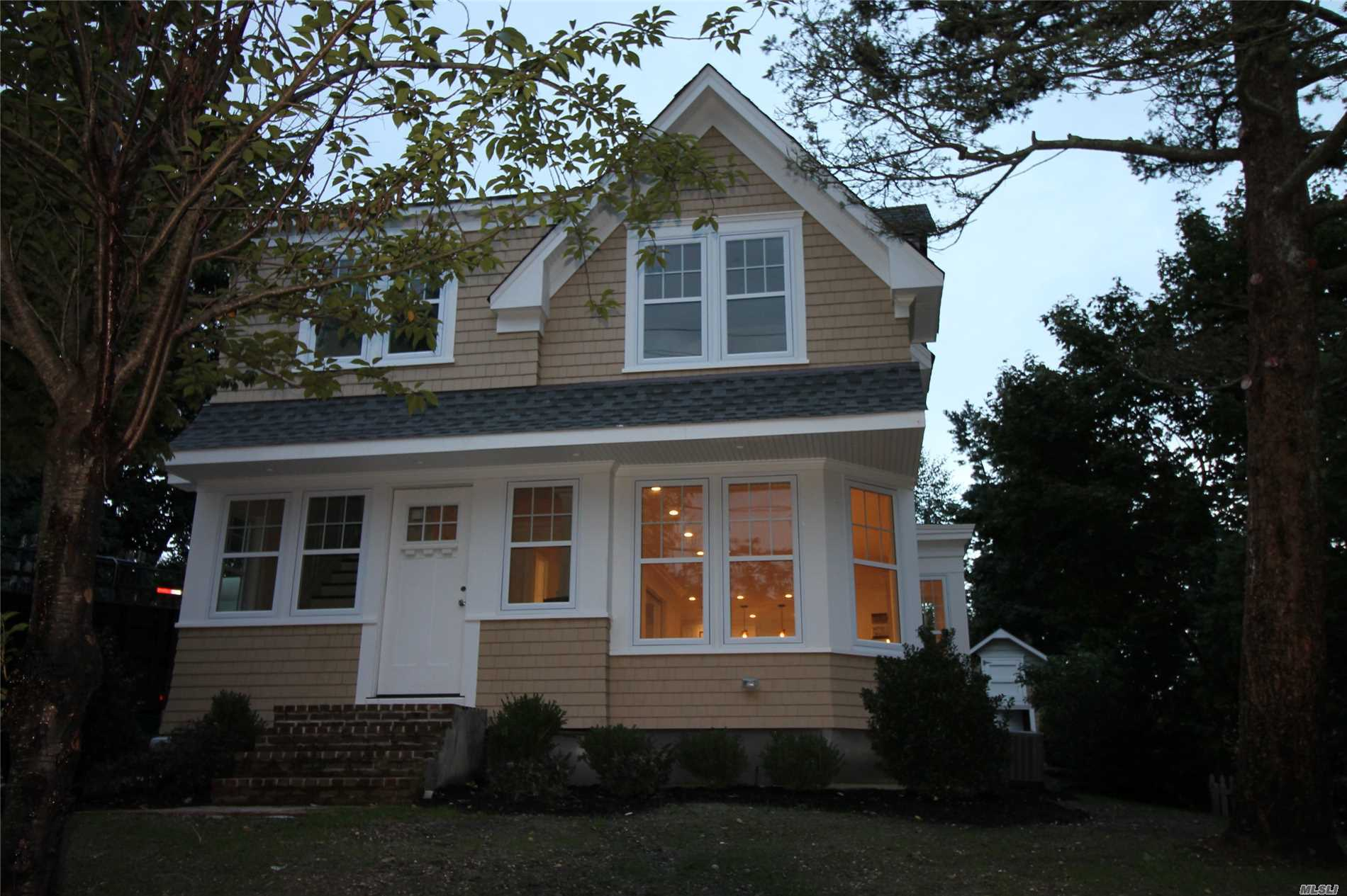 A Village Gem! Must See This Beautiful Newly Renovated 2 Story, 4 Bedroom Home W/ Thermador Stainless Steel Appliances, Granite Countertops, Eik With Center Island. Marble Bathrooms (4th Bedroom Can Be Den Or Study).  1 Car Detached Garage, 1 Detached Shed. Close To Village, Lirr And Shopping. *Please Note That The Home Is Still In The Final Stages Of Renovations. More Pictures To Come. Copy Of Recent Taxes Are Attached.