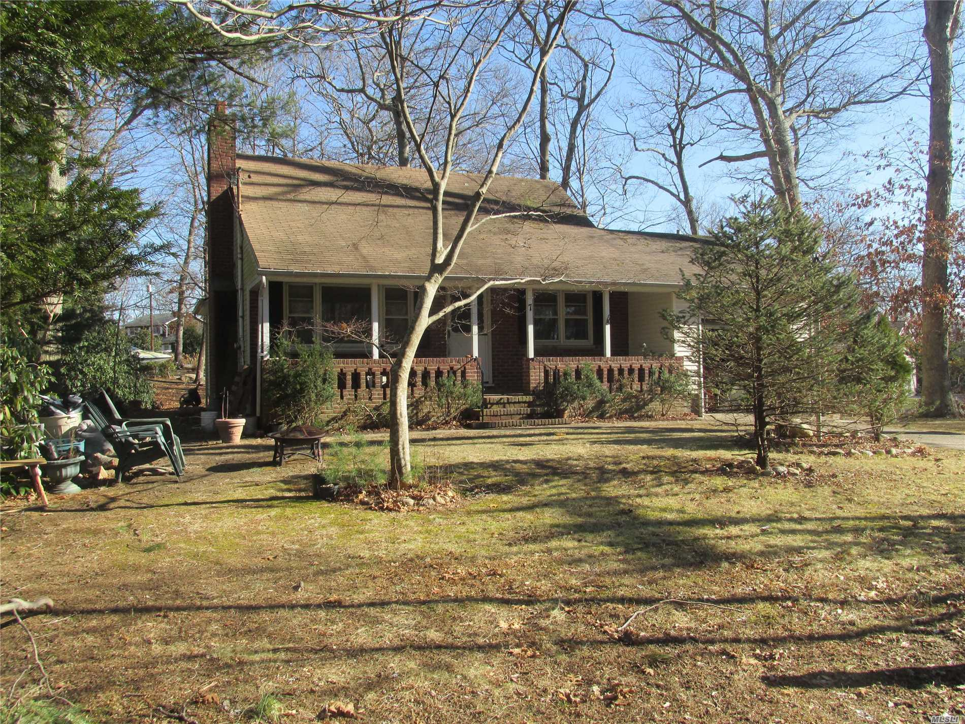 This Charming Custom Built Expanded Cape Located North Of North Country Rd. Has Been In This Same Family For Decades. It Features A Cozy Living Room W/Fireplace, Parkay Hardwood Floors Thru Out, Eat In Kitchen, Large Dining Room/Den, 4/5 Bedrooms, 5th Bed/Office, Full Basement, 1 Car Garage, Deeded Beach Rights All On A Nice Country Setting And Just Minutes To Acres Of Beautiful Beaches. Shoreham/Wading River Sd Too.