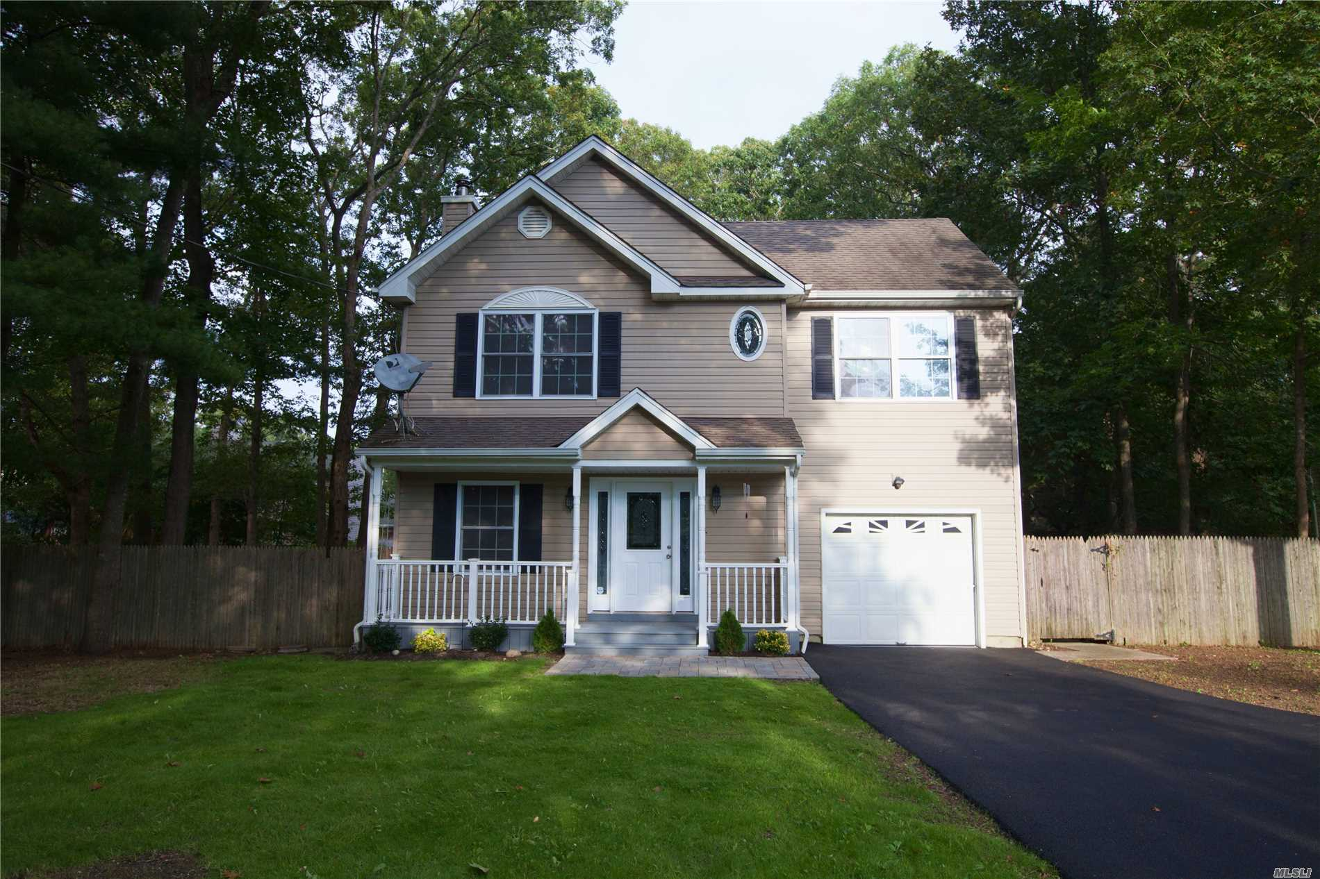 Fully Renovated Colonial On Cul-De-Sac Near Jr High & High School.Not A Flood Zone Full Front Porch, Turn Key Ready To Move In! Beautiful New Hardwood Floors Throughout, Brand New Kitchen & Appliances, Brand New Bathrooms, New Windows, New Light Fixtures Throughout, Beautiful Master Bedroom With Wic. Large Storage Space In Attic. Brand New Oil Furnace Just Installed. Attached Garage With Entrance To Kitchen. First Floor Bedroom Or Home Office With Lovely French Doors. New Blacktop Driveway