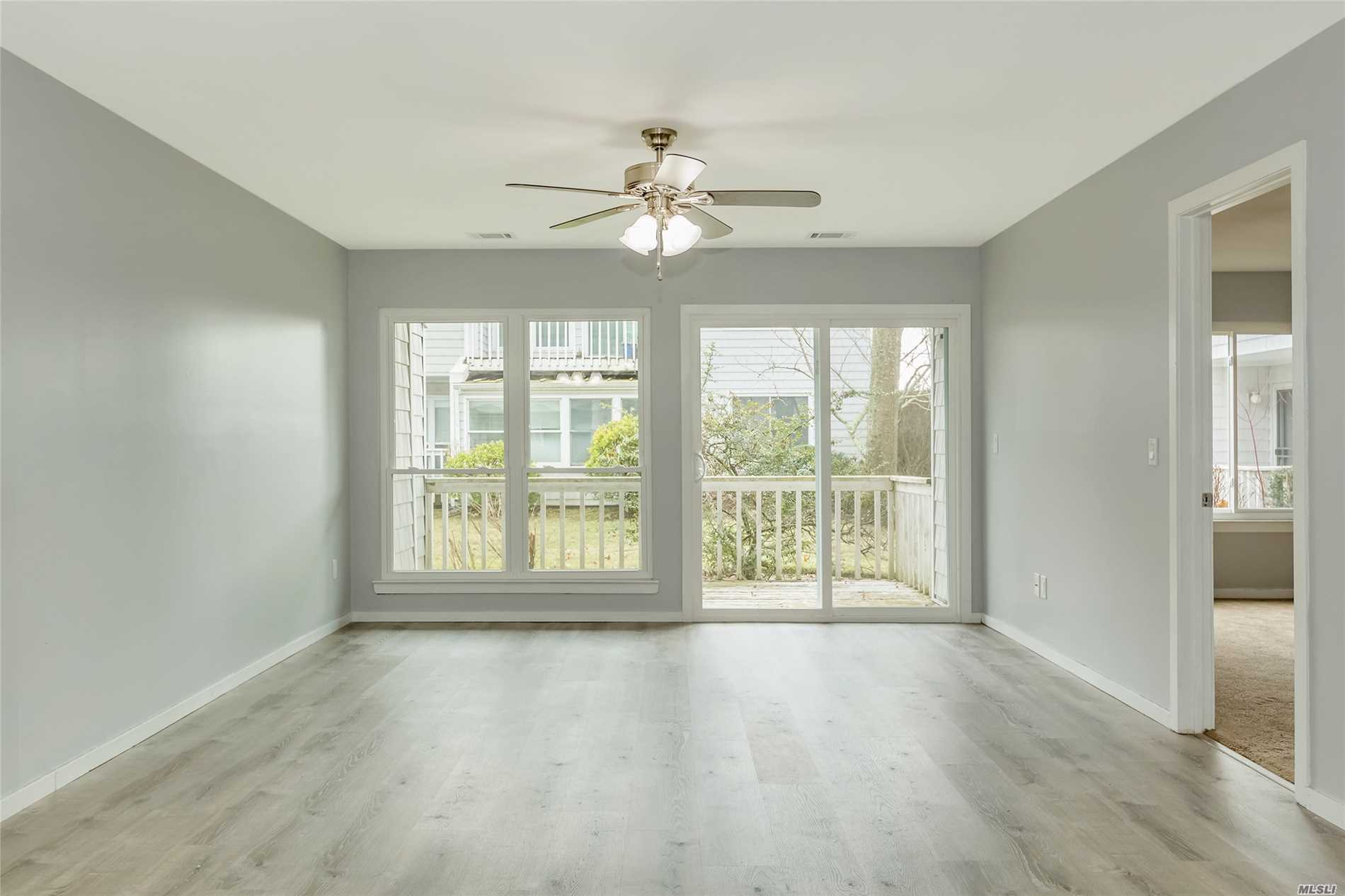 Priced To Sell..Renovated 1st Floor End Unit Condo; Kitchen, Floors And All New Windows...2 Bedroom/2 Full Bathrooms, Close To Town, Stores, Train And Beaches.